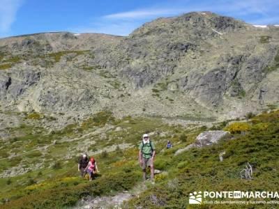 Ruta senderismo Peñalara - Parque Natural de Peñalara - Laguna Grande de Peñalara; caminar rápid